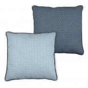 Perna Decorativa Moderna Cubist Albastru