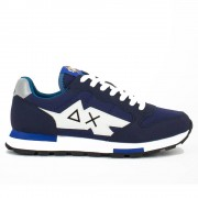 Sun68 Scarpe Uomo Sneakers Niki Solid Navy Blue