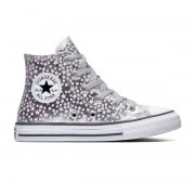 Converse All Stars Chuck Taylor 669249C Zilver / Roze-27