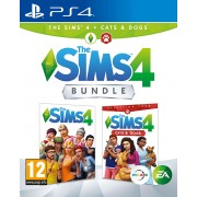 The Sims 4 + Cats & Dogs Bundle PS4