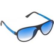 VESPL Oval Sunglasses(Blue)