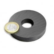 Magnet ferita inel, diametru 60/20 mm, inaltime 10 mm