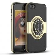 IPAKY magnetiskt skal med ställ, iPhone 5/5S/SE, guld