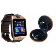 Mirza DZ09 Smart Watch and Katori Earphone for LG OPTIMUS L5 DUAL(DZ09 Smart Watch With 4G Sim Card Memory Card| Katori Earphone)