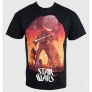 tricou cu tematică de film bărbați copii Star Wars - Sunset Poster - PLASTIC HEAD - PH8123