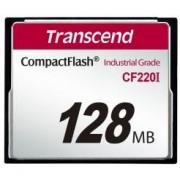 Card de memorie Transcend Industrial Compact Flash, 128MB