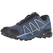 Salomon Men s Speedcross 4 Trail Runner Slate Blue/Black/Blue Yonder 9 D(M) US