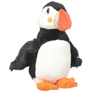 Wild Republic Sea Critters, Puffin Plush, Stuffed Animal, Plush Toy, Sea Animals, Gifts for Kids, 8.5 inches