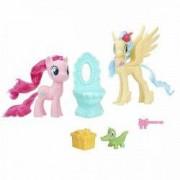Jucarie My little pony Petrecere intre prieteni Pinkie Pie si Princess Skystar Party Friends E0995 Hasbro