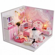 Flever DIY House Kit Creative Craft Toy Perfect Valentine's Gift--Sweet Dream