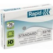 Capse RAPID Standard 23-10 1000 buc-cutie - pentru 40-70 coli
