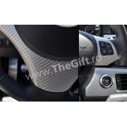 Sticker, folie carbon 3 D, pentru inscriptionare auto