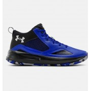 Under Armour Adult UA Lockdown 5 Basketball Shoes Blue 40.5