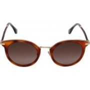 Jimmy Choo Round Sunglasses(Brown)