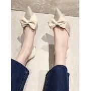 Rosegal Chaussures avec Nœud Papillon à Bout Pointu à Talon EU 39