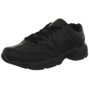 Fila Men's Memory Workshift Cross-Training Shoe,Black/Black/Black,10 4E US