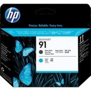 HP 91 - C9460A cabezal cian / negro