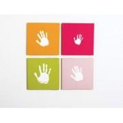 Pearhead - Canvas amprenta roz
