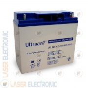 Batteria al Piombo AGM Professionale UL18-12 Ultracell UK 12V DC 18.0AH 18AH