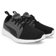 Puma Carson Runner Knit Running Shoes For Men(Black)