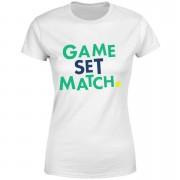 Game Set Match Women's T-Shirt - White - S - White