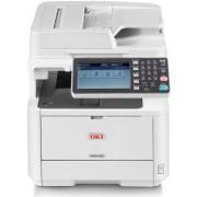 Imprimanta laser alb-negru OKI MB492dn, A4, 40 ppm, Retea, Wireless (Alb)