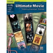 Alfred Music Ultimate Movie - Alto-Sax Instrumental Solos, Book/CD