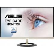 Asus vz279q 68,6 cm (27 inch) monitor (Full HD, D-SUB, HDMI, DisplayPort, 5 ms responstijd) Zwart/Goud