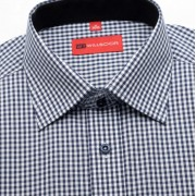 Bărbați cămașă slim fit Willsoor 1053