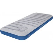 High Peak Air bed Cross Beam Single Extra Long Slaapmat grijs/blauw 2018 Luchtmatrassen