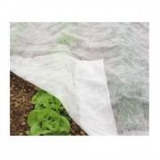Folie microporoasa pentru protectie HortyAgryl, Latime 12.65 m, 19 grame pe mp, fara dulbura pe margine