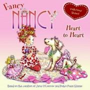 Fancy Nancy Heart to Heart [With Sticker(s)], Paperback
