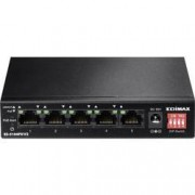 EDIMAX Síťový switch EDIMAX, Edimax ES-5104PH V2, 5 portů, 100 Mbit/s, funkce PoE