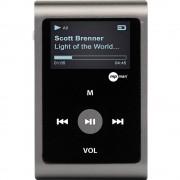 MP3 reproduktor mpman MP30WOM, siva, pričvrsna kopča