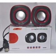 Hiper Song HS 902 USB Wired Portable Speaker for Laptop PC Mobile with Manufacturer Warranty