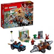LEGO Juniors Underminer Bank Heist Building Blocks for Kids 4 to 7 Years (203 pcs) 10760