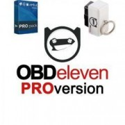 Tester Auto Obdeleven OBD II diagnoza auto VW Skoda Audi Seat VAG Group + Pachet PRO + Inel extragere
