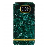 Richmond & Finch Smartphone covers Samsung Galaxy S6 Edge Marble Glossy Groen