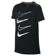 Nike B nk dry top gfx AQ9637-010 Černá M