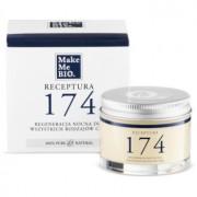 Make Me BIO Receptura 174 creme de noite regenerador para todos os tipos de pele 50 ml