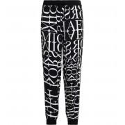 Michael Kors Pantalone Michael Kors logato colore bianco e nero