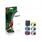 Yanec HP 363 Zwart en Kleur (6-Pack)(Yanec)