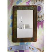 Spiegel Altholz 60x3x80 mehrfarbig lackiert FREEZY #42