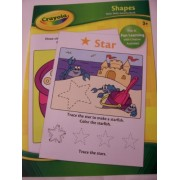 Crayola Educational Activity Book ~ Shapes (Pre-K Fun Learning with Creative Activities)