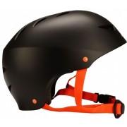 Nijdam Skatehelm Aggressive Zwart Oranje Maat 58/61 cm
