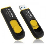 USB flash drive AData DashDrive UV128 32GB USB 3.0 Black/Yellow
