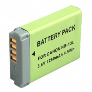 Power3000 PLW844G.836 - acumulator replace tip NB-13L pt Canon 3.6V 1250mAh