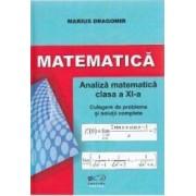 Matematica - Clasa a 11-a - Analiza matematica. Culegere de probleme - Marius Dragomir