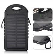 Baterie Externa Power Bank 5000 mah Incarcare Solara Baterie Urgenta