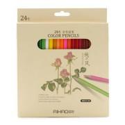 Creioane colorate 24 culori Aihao 9015